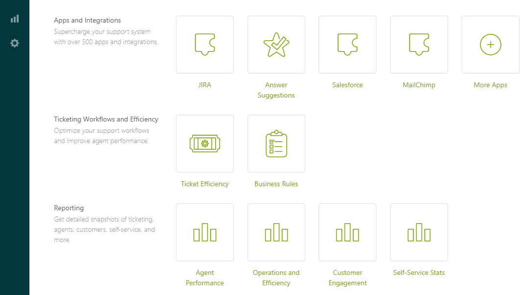 You Can Integrate Your Zendesk Account With More Than 500 Apps Including :