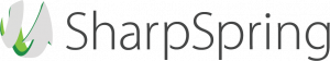 SharpSpring's logo. Sharpring helps in sales leads generation by marketing automation.